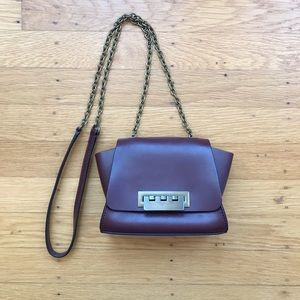 Zac Posen leather mini crossbody bag (used)